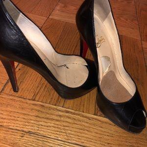 Christian Louboutin open-toed heels